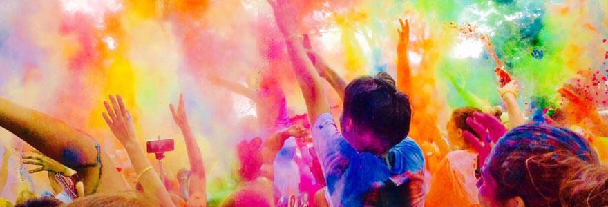 Evénement colorée