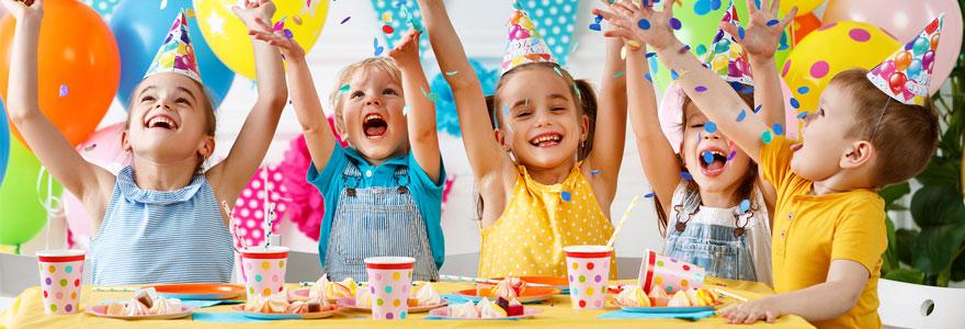 Organiser une fête d'anniversaire